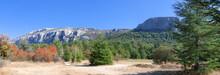 Panoramic View On Saint Baume, France.