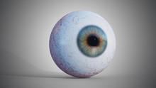 3D Rendered Illustration Of Ey...