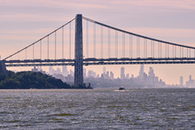 George Washington Bridge In Ne...