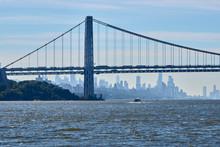 George Washington Bridge In New York