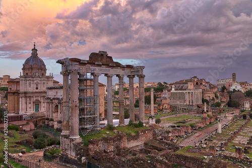 Photo  Foro di Cesare, The Forum Area