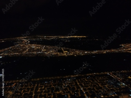 Fotografía  Avião Noite