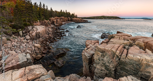 Sunset in Acadia National Park Wallpaper Mural