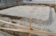 住宅基礎工事 盛り土