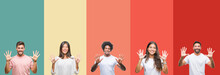 Collage Of Different Ethnics Y...