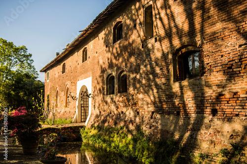 In de dag castle near Pavia