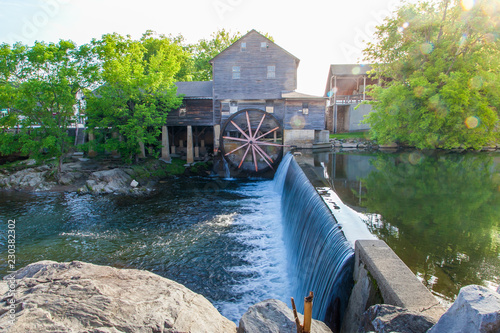 Fotografia, Obraz The Old Mill, is a historic gristmill in the U