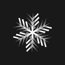 Chunky Marker Snowflake