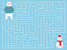 Christmas Maze Game For Childr...