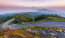 Beautiful Super Curve Road On ...