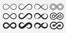 Infinity Loop Logo Icon. Vecto...