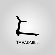 Treadmill Icon. Treadmill Symb...