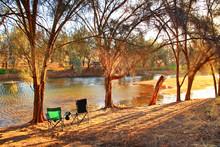 Murchison River In Western Aus...