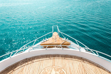 Luxury Yacht, Stern Interior, ...