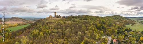 Fotografie, Obraz  Luftbildaufnahme Mühlburg bei Mühlberg