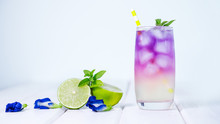 Butterfly Pea Flower Drink Wit...
