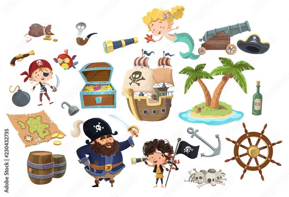 Fototapeta stock piratas