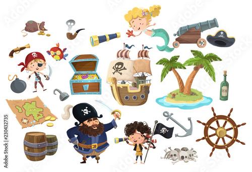 Cuadros en Lienzo stock piratas