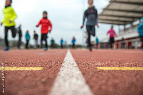 Photo athlétisme enfants