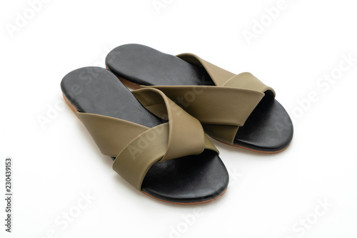 ca9bc1411 beautiful fashion female and woman leather sandals - Buy this stock ...