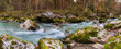 Schlucht der Loisach bei Garmisch-Partenkirchen