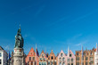 canvas print picture - The Markt of Bruges, Belgium