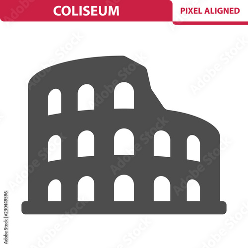 Coliseum Icon Fototapet