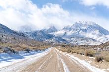 Road Leading To Buttermilks, California, USA