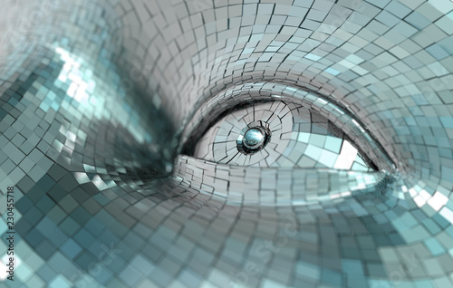 Photo Concepto de inteligencia artificial y robotica