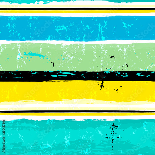 seamless abstract pattern background, with stripes, strokes and splashes, grungy