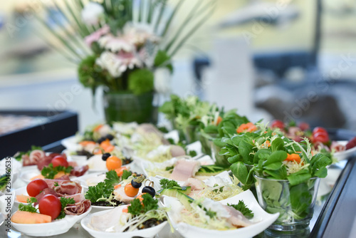 Photo sur Toile Buffet, Bar Hochzeitsbuffet, Buffet und Catering
