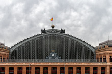 Atocha Railway Station In Madrid, Serving Commuter Trains, Intercity, Regional And AVE High Speed Trains