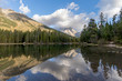 canvas print picture String Lake Reflections
