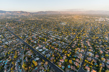 Aerial View Towards Lassen St ...