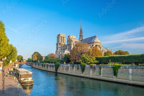 Photo  The beautiful Notre Dame de Paris