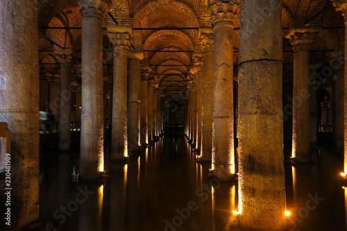 Photographie The Basilica Cistern - underground water reservoir