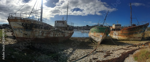 Photo Stands Shipwreck Navires Bretons