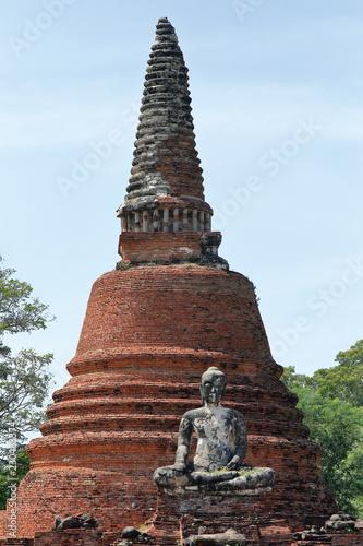 Ayutthaya Thailand, Wat Chettha Thettharam, Ruin
