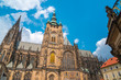 St. Vitus Cathedral in Prague in a beautiful summer day