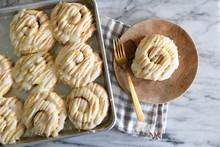 Glazed Pastry Swirls