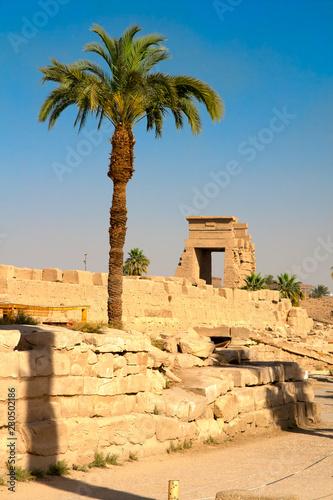Fotografia  karnak ancient temple in luxor egypt
