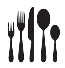The Contours Of The Cutlery. S...