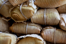 Tamales Wrapped In Corn Husks