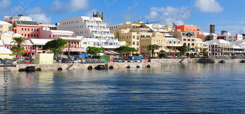 Photo Waterfront Hamilton Bermuda