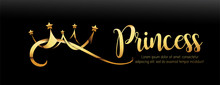Vector Luxury Sign Gold Crown....