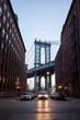 Sunrise Time at Manhattan Bridge