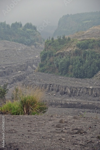 Mount Merapi devastation impact on its surrounding
