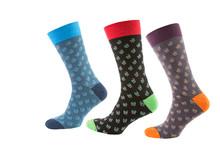 Fashionable Men's Socks, Three...