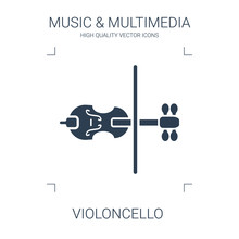 Violoncello Icon
