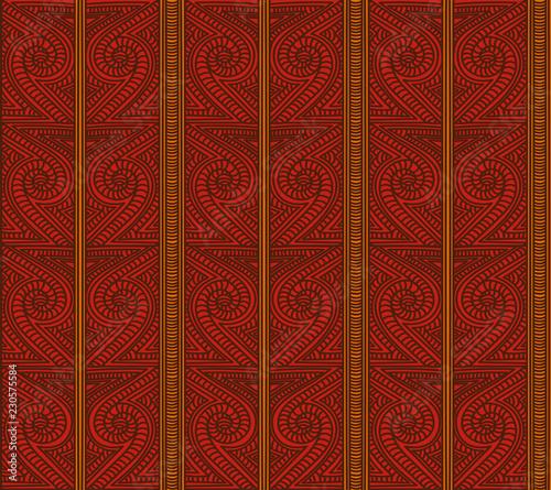 maori tribal pattern vector seamless ethnic african fabric print